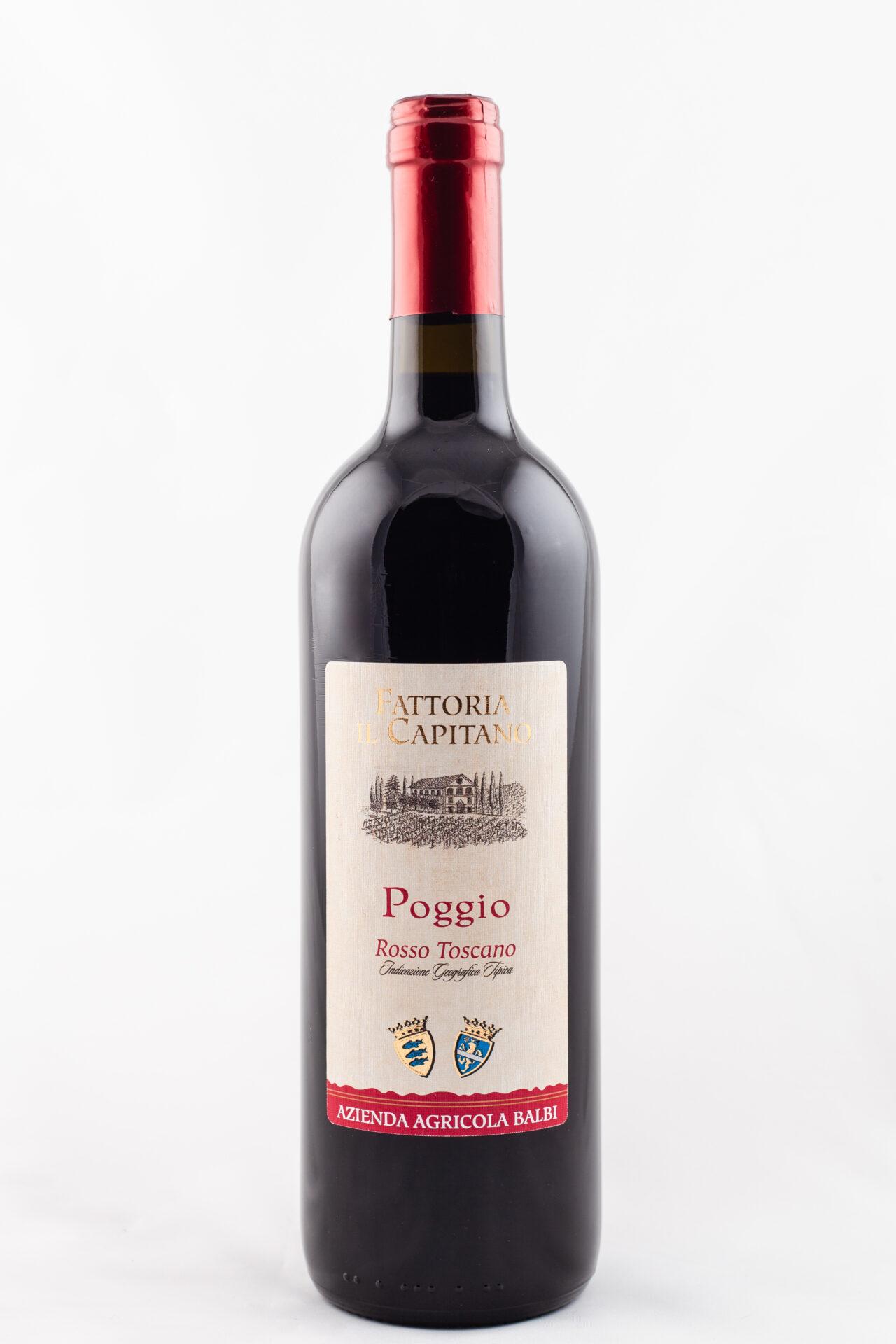 vino_Poggio_rosso_toscano_IGT_Fattoria_il_Capitano